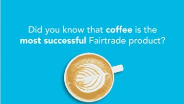 Coffee is the most successful Fairtrade product
